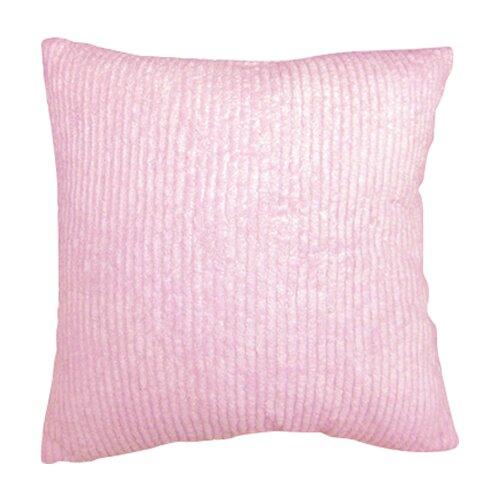 Sweet Jojo Designs Chenille Pink Decorative Pillow
