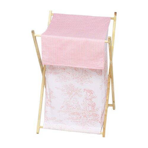 Sweet Jojo Designs Pink Toile Laundry Hamper