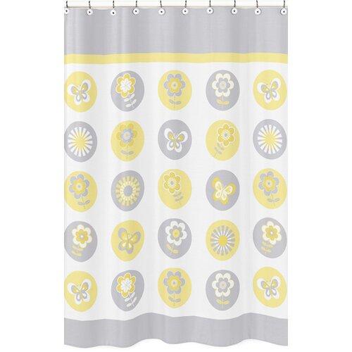 Mod Garden Shower Curtain