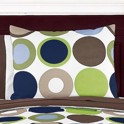 Sweet Jojo Designs Designer Dot Pillow Sham