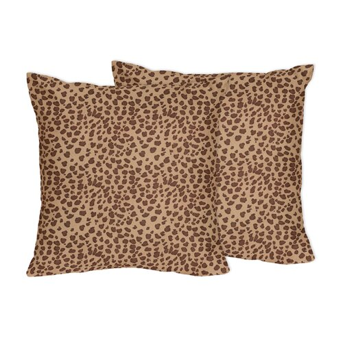 Cheetah Girl Accent Pillow (Set of 2)