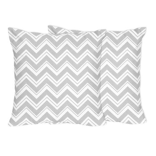 Zig Zag Decorative Accent Pillow (Set of 2)