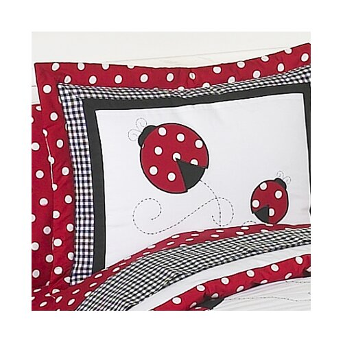 Sweet Jojo Designs Little Ladybug Sham