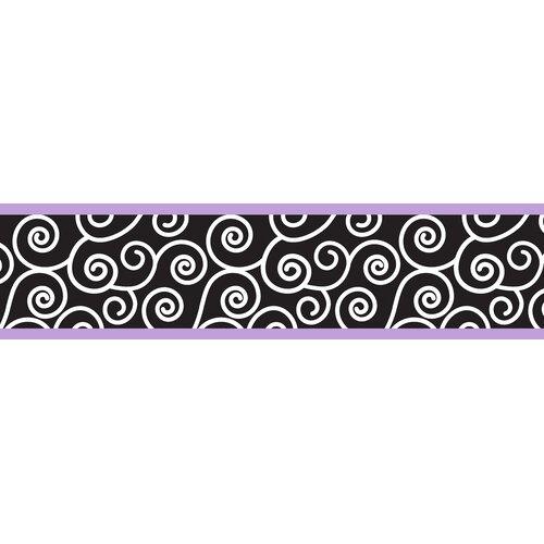 Sweet Jojo Designs Kaylee Scroll Wallpaper Border