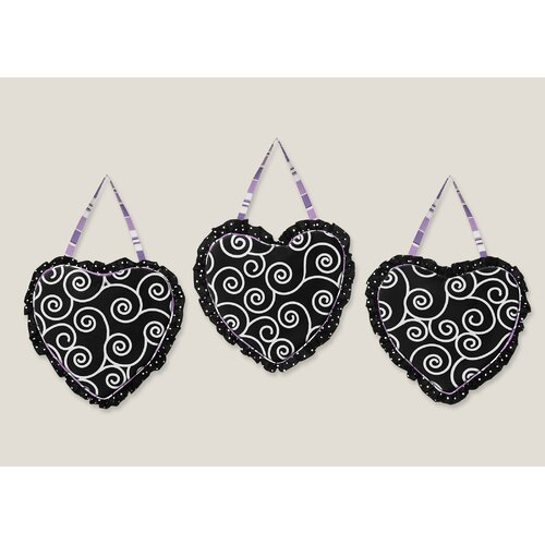 Sweet Jojo Designs 3 Piece Kaylee Wall Hanging Set