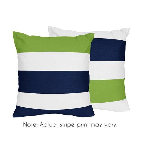Wayfair Green Throw Pillows : Navy Striped Pillow Wayfair