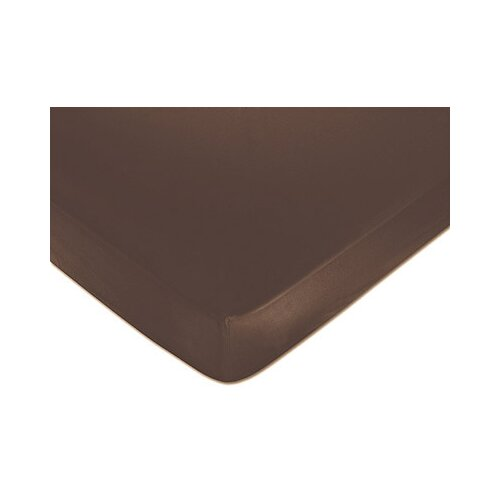 Sweet Jojo Designs Brown Fitted Crib Sheet