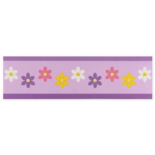 Sweet Jojo Designs Daisies Wallpaper Border