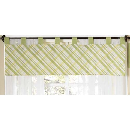 "Sweet Jojo Designs Leap Frog 84"" Curtain Valance"