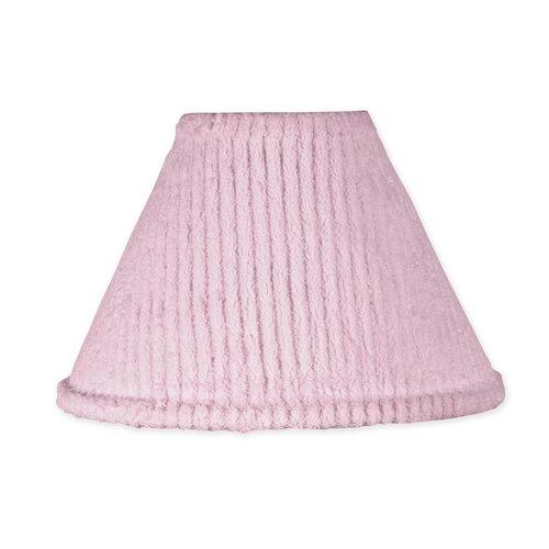 "Sweet Jojo Designs 10"" Chenille Pink Lamp Shade"