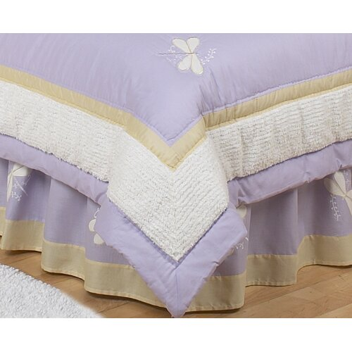 Sweet Jojo Designs Dragonfly Dreams Toddler Bed Skirt