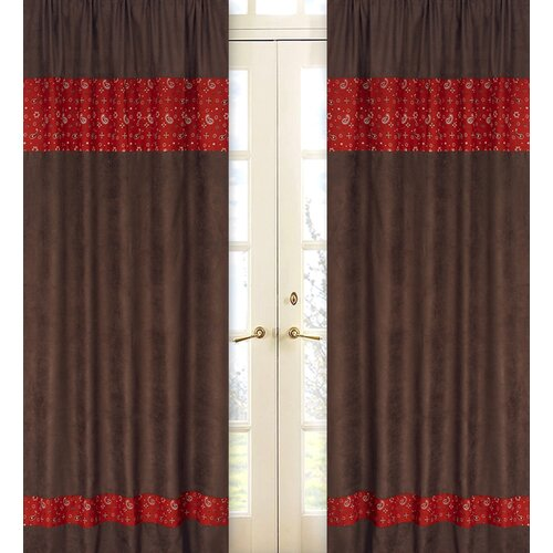 Sweet Jojo Designs Wild West Cowboy Curtain Panels & Reviews | Wayfair ...