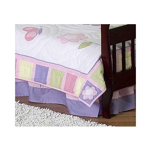 Butterfly Toddler Bed Skirt