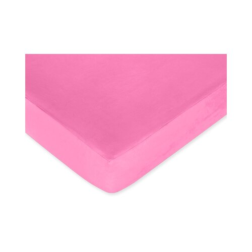 Sweet Jojo Designs Pink Fitted Crib Sheet