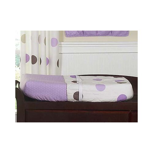 Sweet Jojo Designs Mod Dots Purple Collection Changing Pad Cover