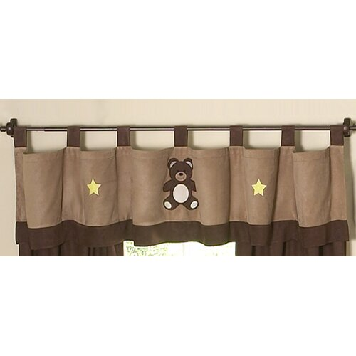 "Sweet Jojo Designs Teddy Bear 84"" Curtain Valance"
