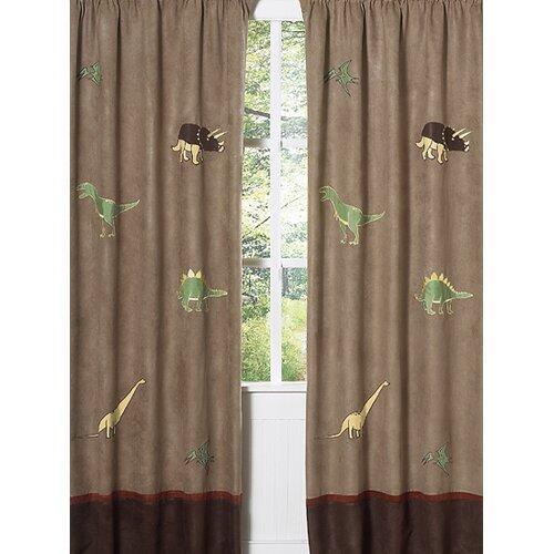 Sweet Jojo Designs Dinosaur Land Curtain Panel