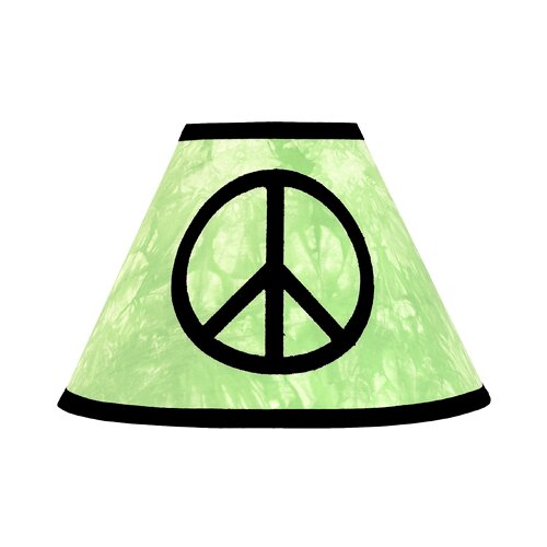 "Sweet Jojo Designs 10"" Peace Lamp Shade"