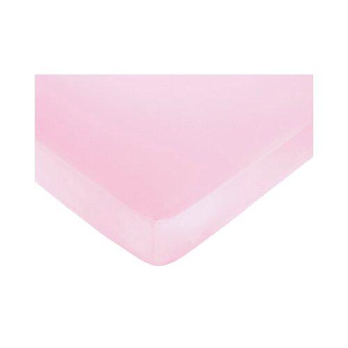 Sweet Jojo Designs Ballerina Pink Fitted Crib Sheet