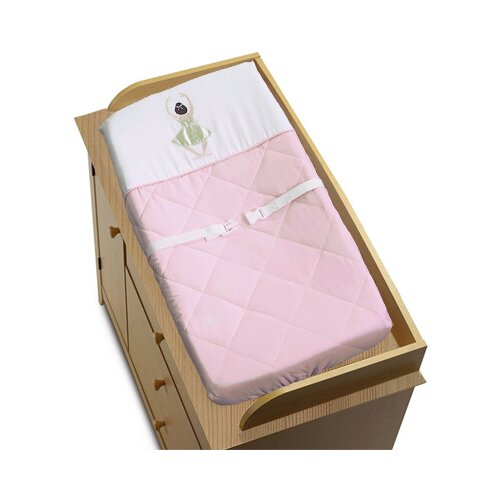 Sweet Jojo Designs Ballerina Collection Changing Pad Cover