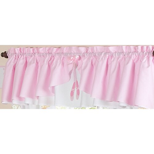 "Sweet Jojo Designs Ballerina 84"" Curtain Valance"