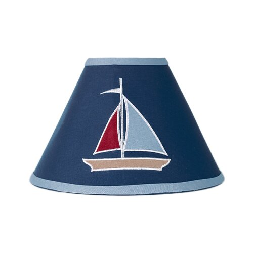 "Sweet Jojo Designs 7"" Nautical Nights Lamp Shade"