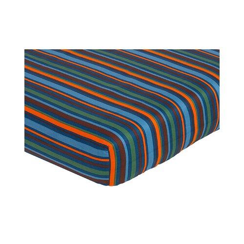 Sweet Jojo Designs Surf Fitted Crib Sheet