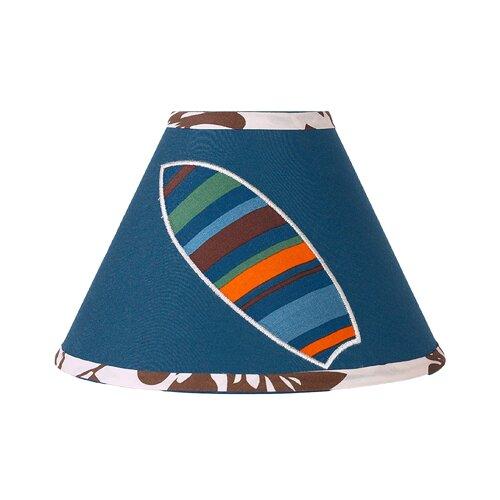 "Sweet Jojo Designs 7"" Surf Blue Lamp Shade"