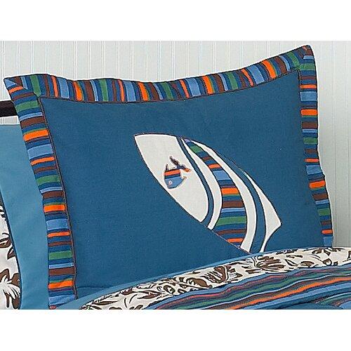 Sweet Jojo Designs Surf Blue Sham