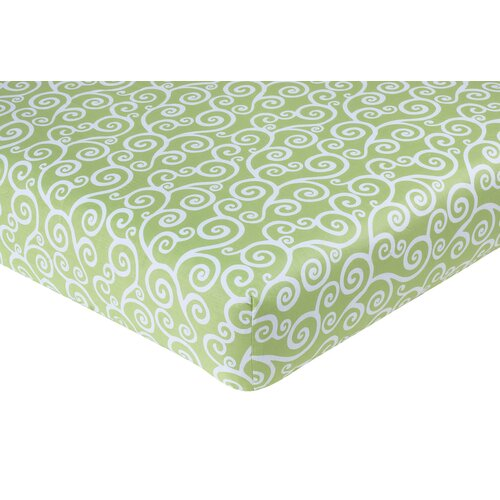 Sweet Jojo Designs Olivia Fitted Crib Sheet