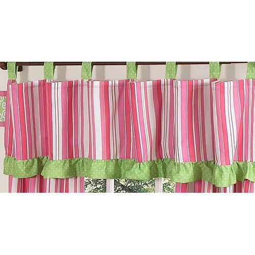 "Sweet Jojo Designs Olivia 84"" Curtain Valance"