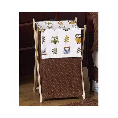 Sweet Jojo Designs Night Owl Laundry Hamper