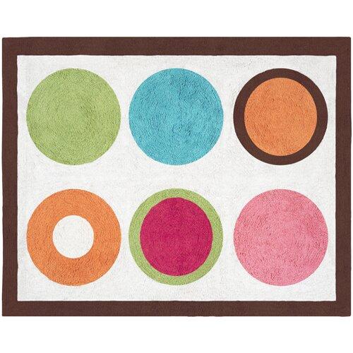 Sweet Jojo Designs Deco Dot Collection Floor Rug