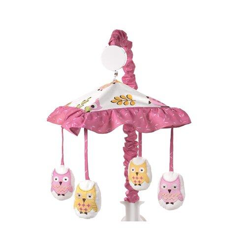 Sweet Jojo Designs Happy Owl Musical Mobile
