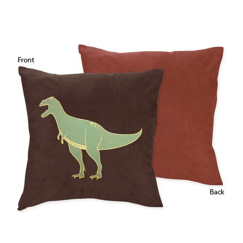 Sweet Jojo Designs Dinosaur Land Decorative Pillow