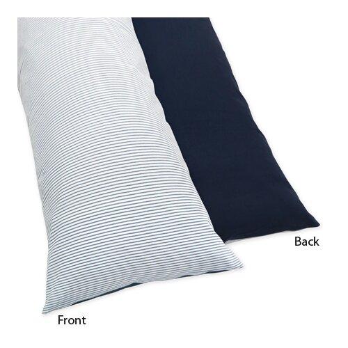 Sweet Jojo Designs Come Sail Away Body Pillowcase