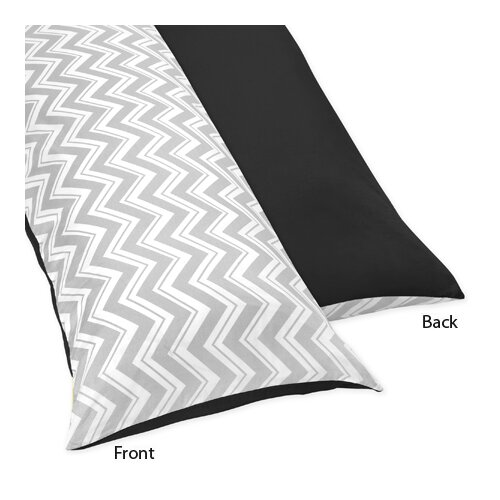 Sweet Jojo Designs Zig Zag Body Pillow Case