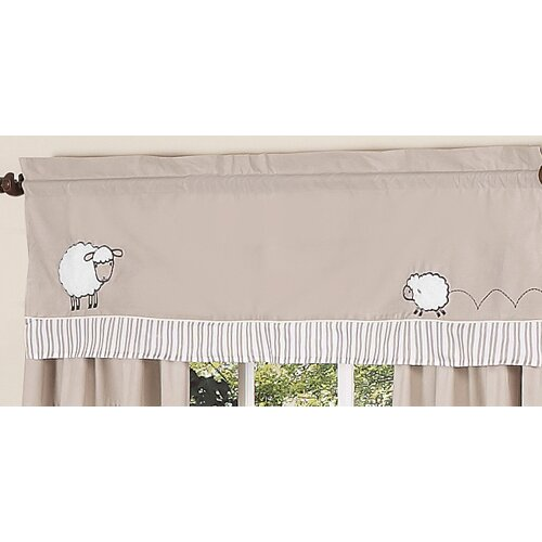 "Sweet Jojo Designs Little Lamb 54"" Curtain Valance"