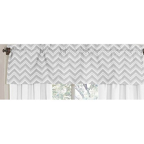 "Sweet Jojo Designs Zig Zag 54"" Curtain Valance"