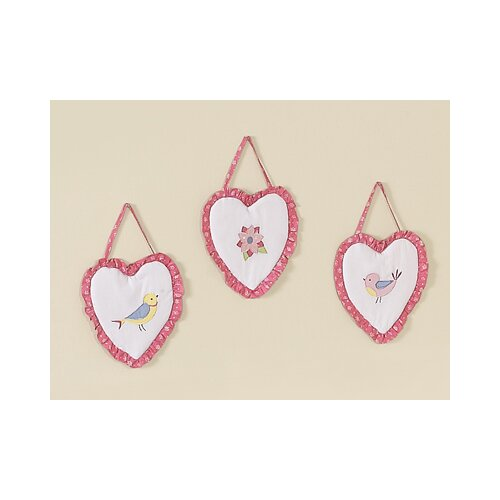 Sweet Jojo Designs 3 Piece Song Bird Wall Hanging Set
