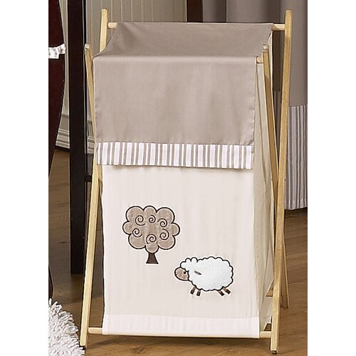 Sweet Jojo Designs Lamb Laundry Hamper