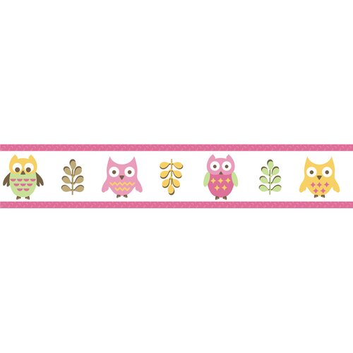 Sweet Jojo Designs Happy Owl Wallpaper Border