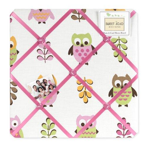 Sweet Jojo Designs Happy Owl Memo Board