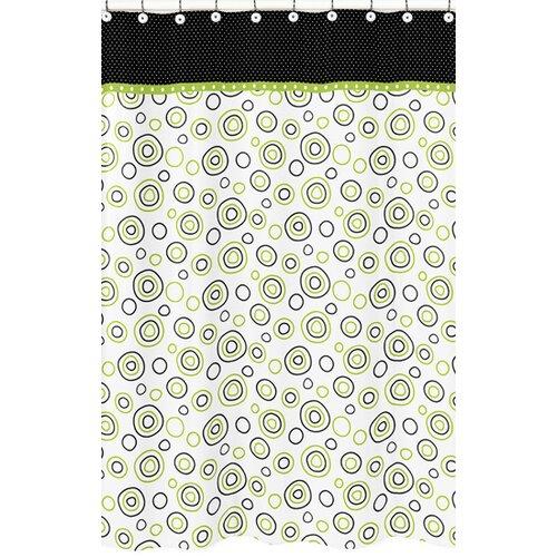 Spirodot Cotton Shower Curtain