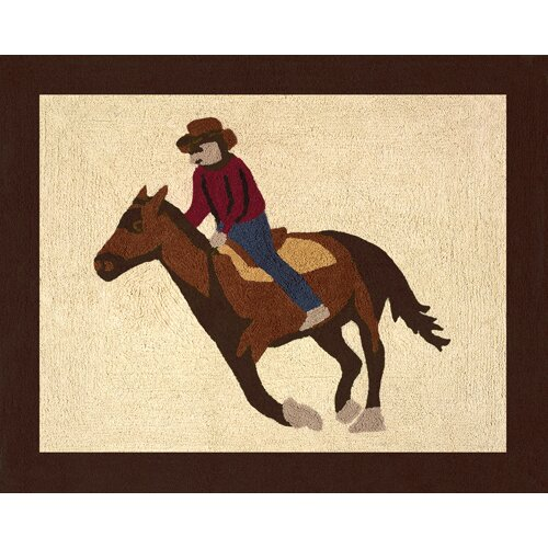 Sweet Jojo Designs Wild West Cowboy Collection Floor Rug