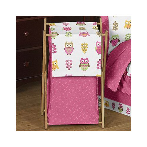 Sweet Jojo Designs Happy Owl Laundry Hamper
