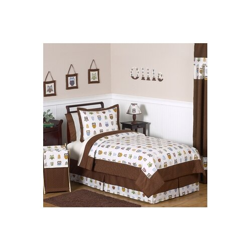 Sweet Jojo Designs Night Owl Comforter Set