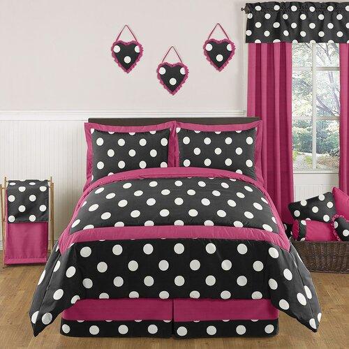 Hot Dot Comforter Set