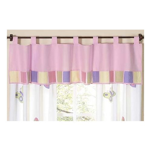 "Sweet Jojo Designs Butterfly 84"" Curtain Valance"