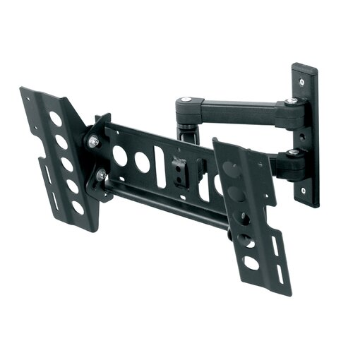 Multi Position Dual Extending Arm/Tilt/Swivel Wall Mount for 25